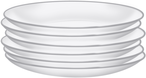 Stack Of Plates Png - Dishes Stack Png Clipart@pikpng.com